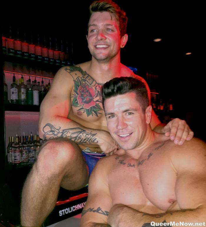 Sebastian Kross Trenton Ducati Gay Porn Stars Grabby Kickoff Party 2015