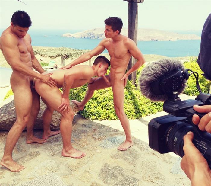 BelAmi Gay Porn BTS Greek Diary