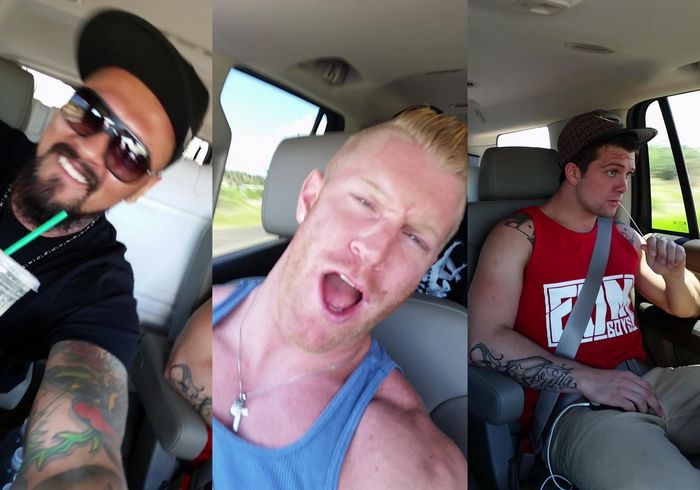 Boomer Banks JohnnyV Sebastian Kross Gay Porn Star Road Trip