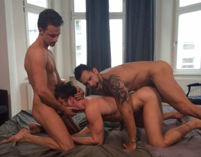 Damon Heart Viktor Rom Zander Craze Gay Porn 3
