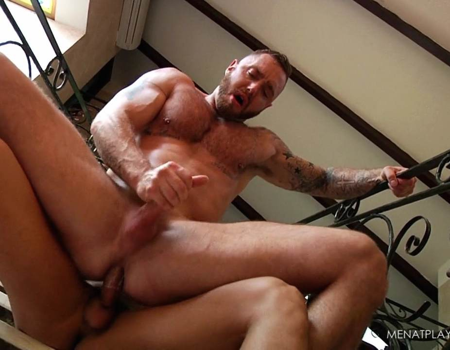 Dominique Hansson Gay Porn Star Muscle Bottom