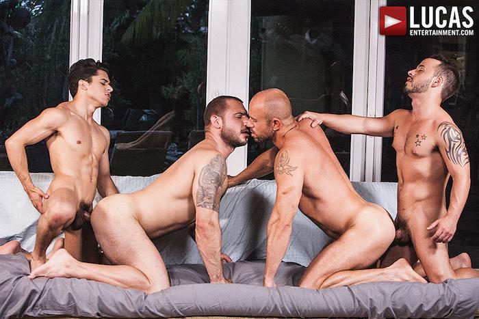 Gay Porn Orgy Armond Rizzo Rafael Lords Pedro Andreas Matt Stevens
