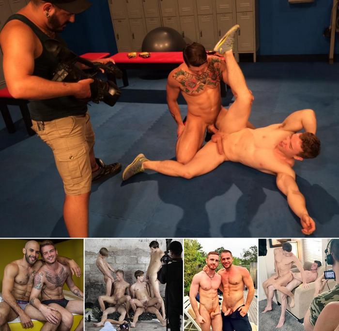 Gay Porn Sebastian Kross Gabriel Cross Brett Beckham JP Dubois Hans Berlin
