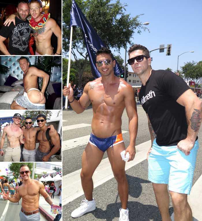 Gay Porn Stars LA Pride 2015