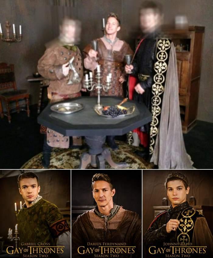 Gay of Thrones 2 Gabriel Cross Darius Ferdynand Johnny Rapid