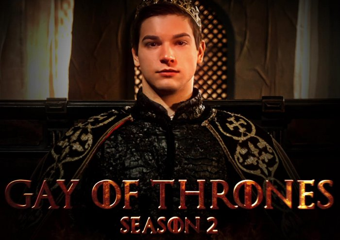 Gay of Thrones Season 2 Johnny Rapid