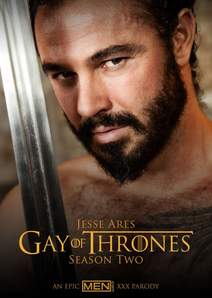 Jessy Ares Gay of Thrones Porn Parody Gregor Clegane The Mountain