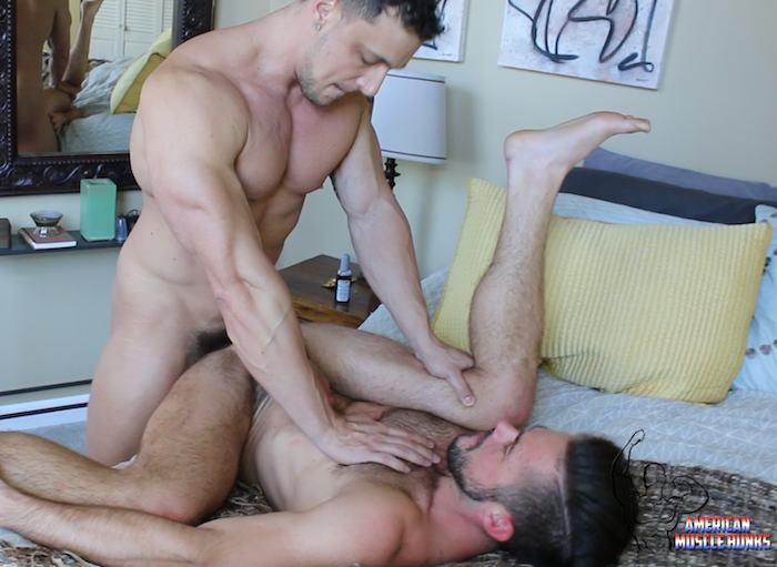 JoeyD Mike DeMarko AmericanMuscleHunks Gay Porn