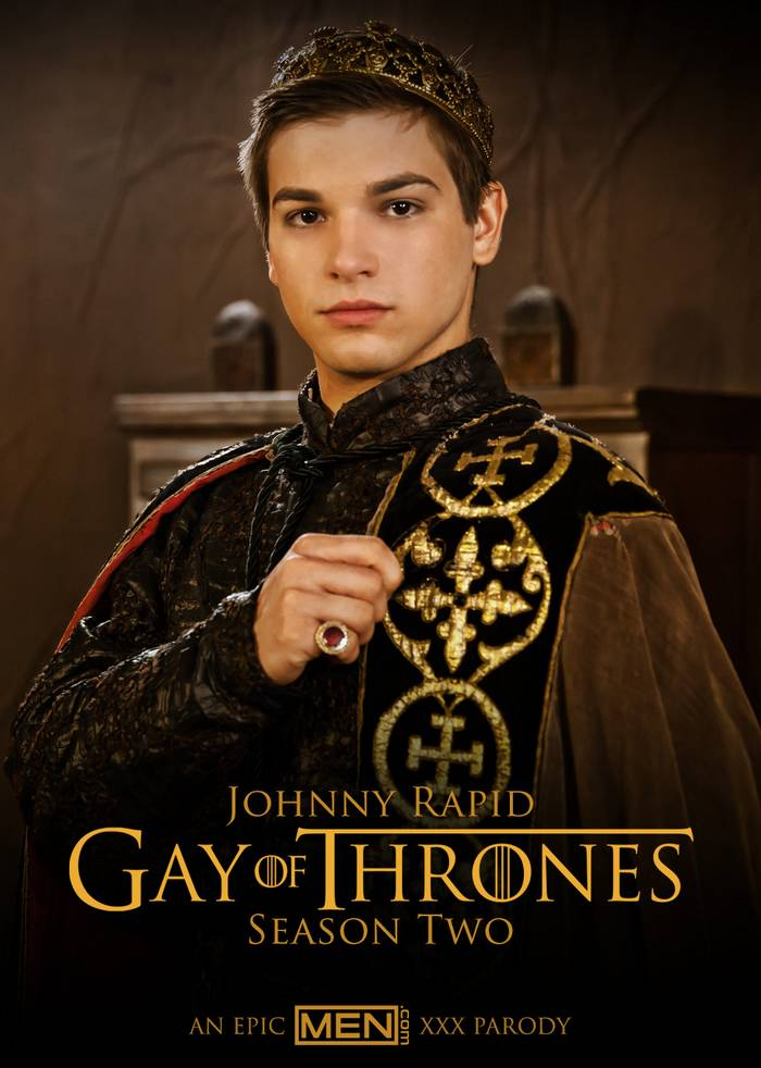 Johnny Rapid King Joffrey Baratheon Gay of Thrones Porn Parody