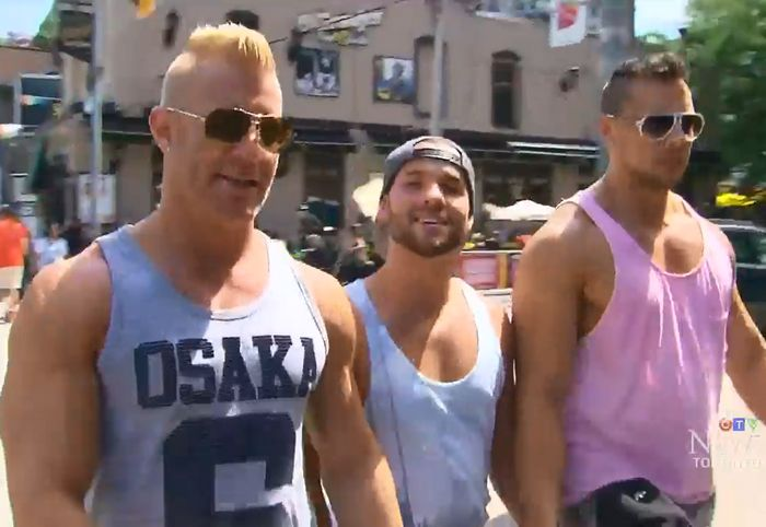 JohnnyV JoeyD Luke Adams Toronto Pride CTV News