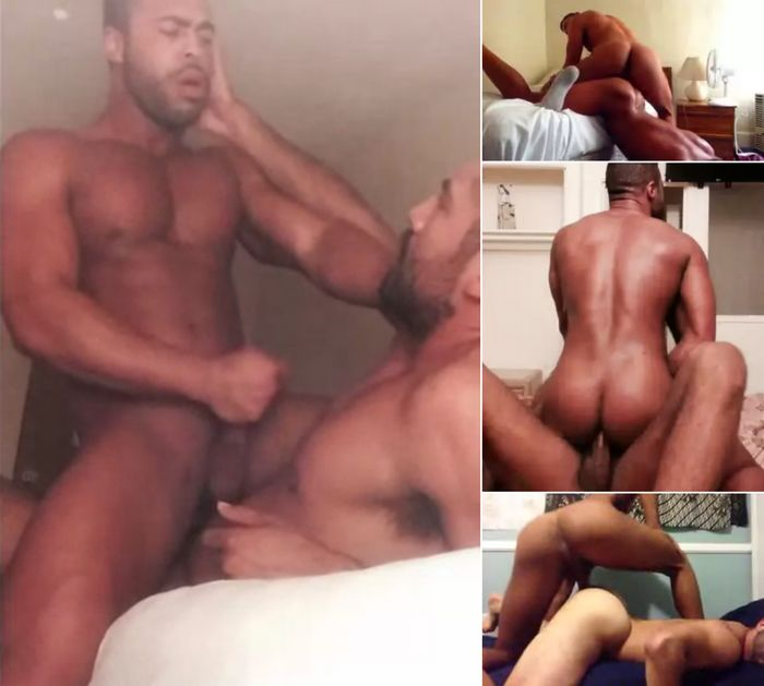 Lustful guys toying fucking