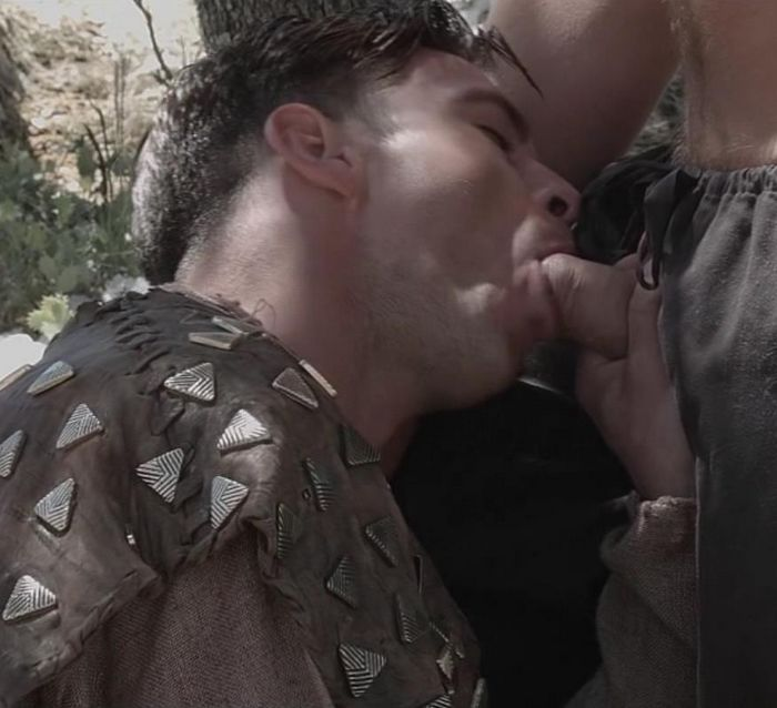 Paddy OBrian Sucking Connor Maguire Cock Gay of Thrones Porn Parody