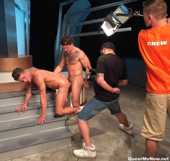 Sebastian Kross Alexander Gustavo Monumental Ass Gay Porn BTS