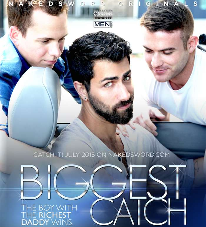 Adam Ramzi Killian James Garrett Cooper Biggest Catch Nakedsword