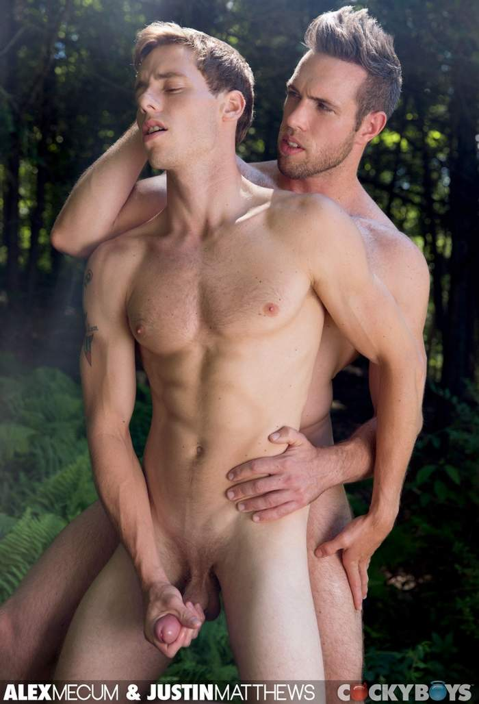 Alex Mecum Justin Matthews CockyBoys Gay Porn