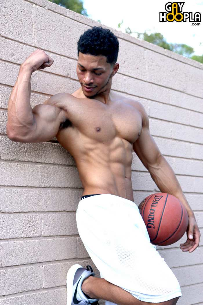 Andre Temple The Basketball Jock Gay Porn Star Muscle