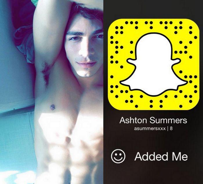 Ashton Summers Gay Porn Star Snapchat