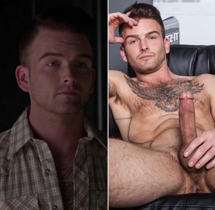 Brett Beckham Teen Wolf Gay Porn Star RandyBlue