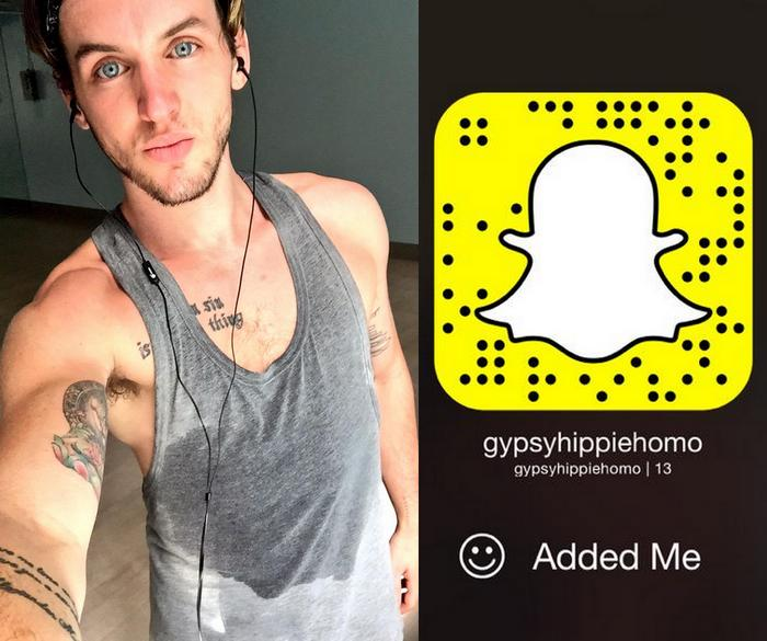 Colton Grey Gay Porn Star Snapchat