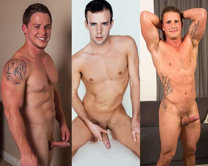 Duke Campbell Oliver Hudson Abraham Naked Gay Porn Stars