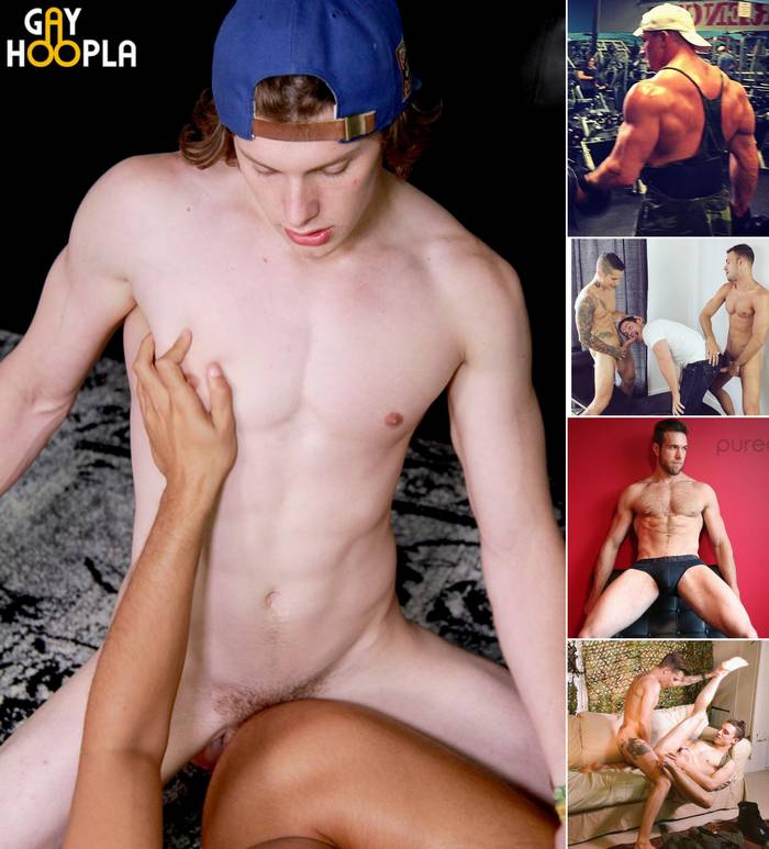Gay Porn Clay Anker Marko Lebeau Alex Mecum Johny Cruz