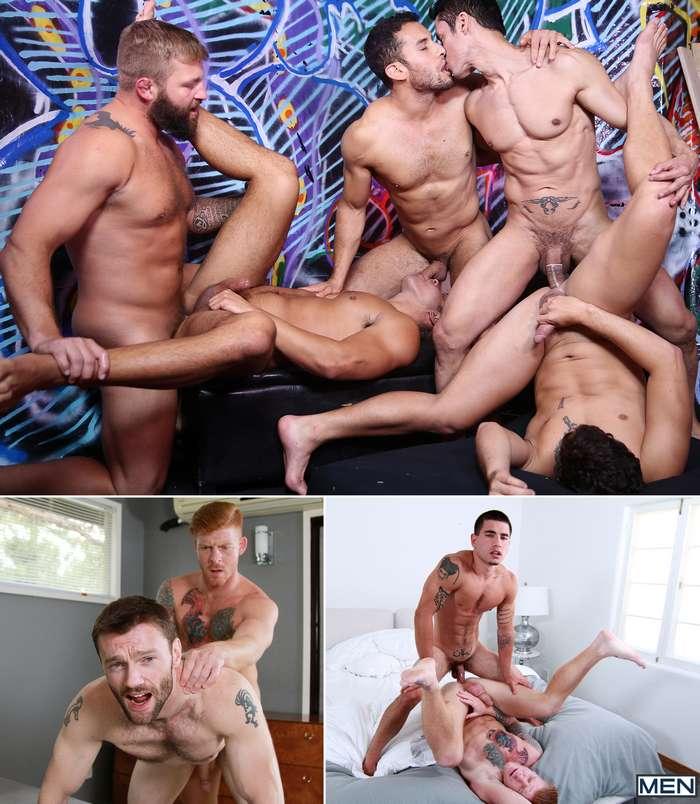 Gay Porn Rafael Alencar Seth Santoro Colby Jansen Dennis West Vadim Black
