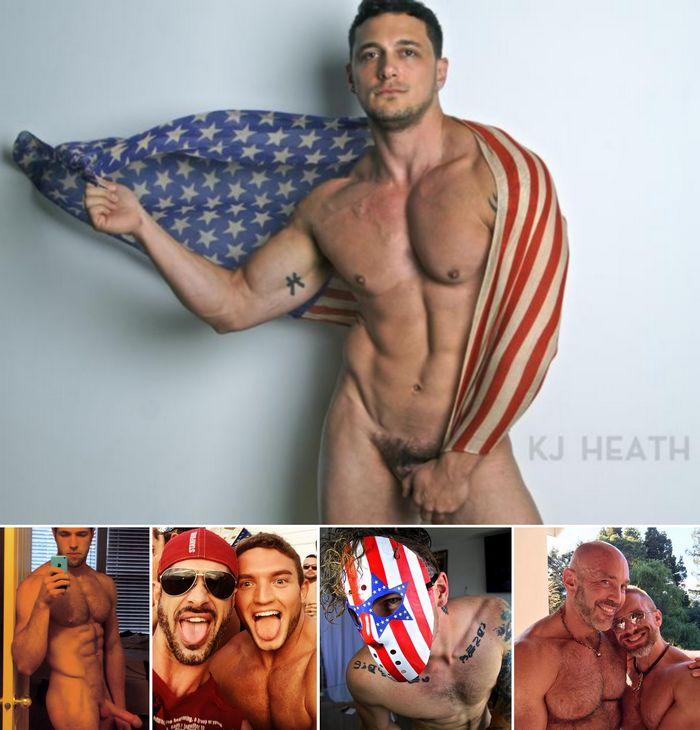 Gay Porn Stars 4th July