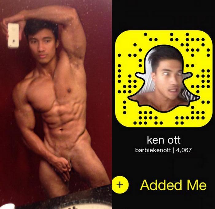 Ken Ott Gay Porn Star Snapchat
