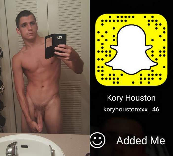 Kory Houston Gay Porn Star Snapchat