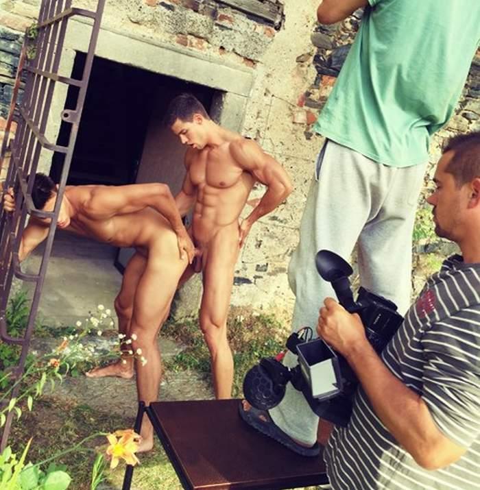 Kris Evans Andrei Karenin BelAmi Gay Porn BTS