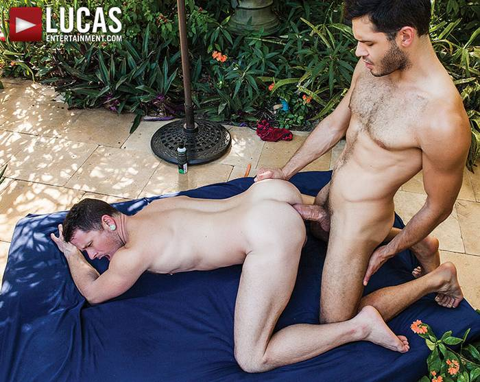 Leo Alexander Max Cameron Bareback Sex Gay Porn