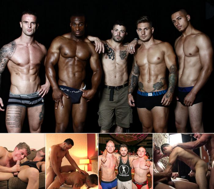 BUFFBOYZZTV Jeffrey Wachman Male Strippers Gay Porn XXX