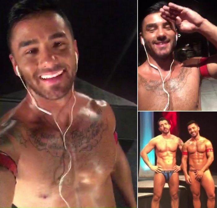 Bruno Bernal Gay Porn Star Brazilian Smile