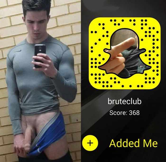 Brute Club Snapchat Gay Porn Star