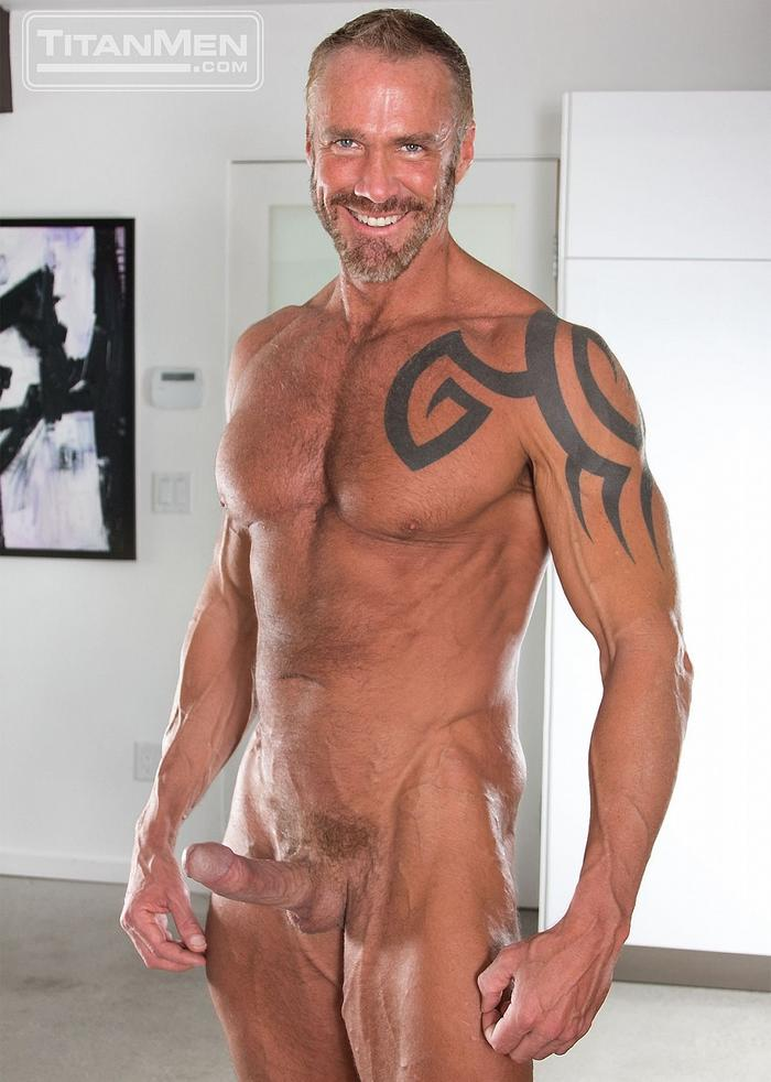 Dallas Steele Gay Porn Star TitanMen Naked Hardon Muscle Daddy