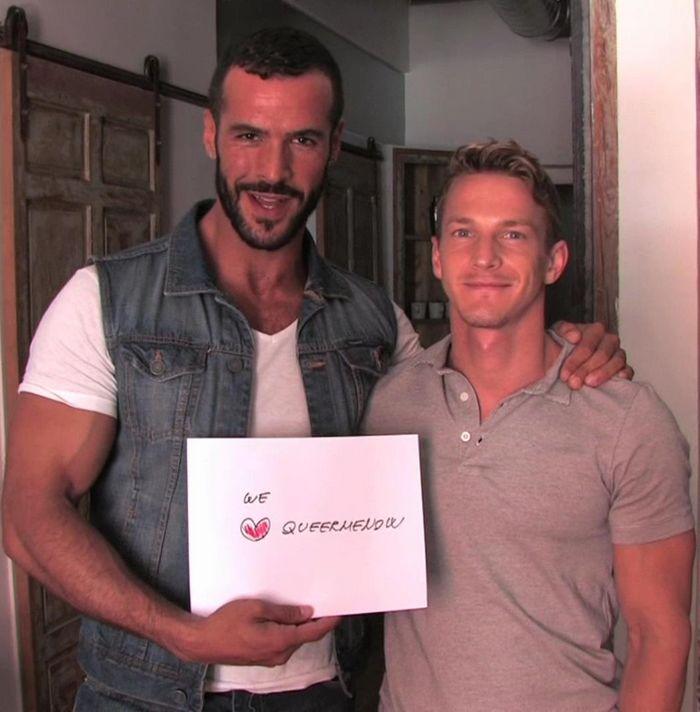 Darius Ferdynand Denis Vega LucasKazan Madrid Tales Gay Porn QueerMeNow