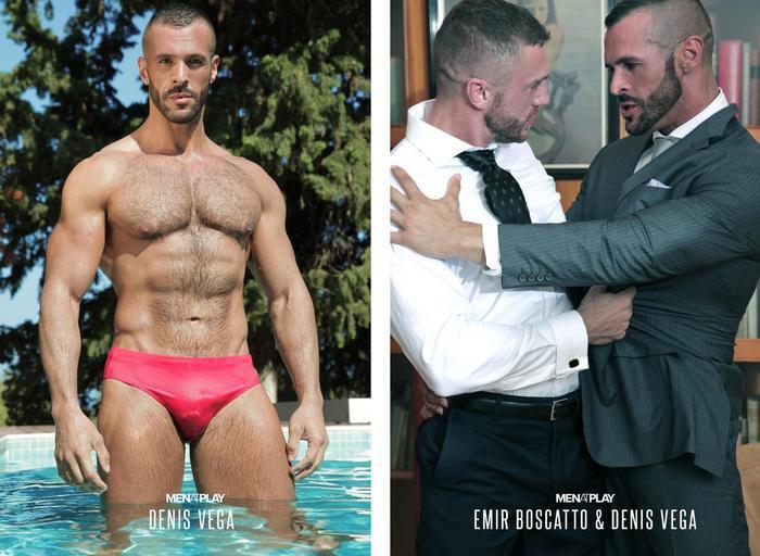 Emir Boscatto Denis Vega Menatplay Gay Porn Star