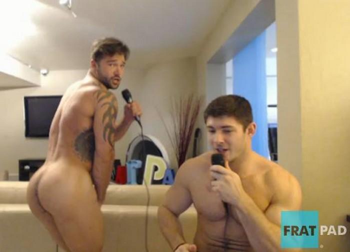 Fratmen Maddox Gage Naked Karaoke Porn Fratpad
