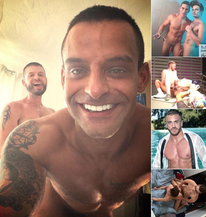 Gay Porn David Benjamin Tex Davidson Topher DiMaggio Bray Love Emir Boscatto