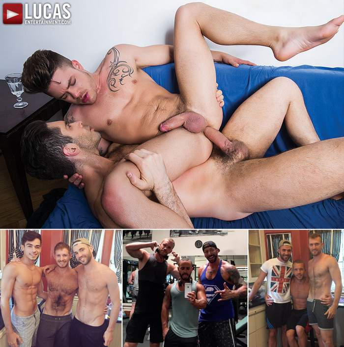 Gay Porn Michael Lucas Fabio Lopez Spencer Whitman Alex Mason Evan Lance