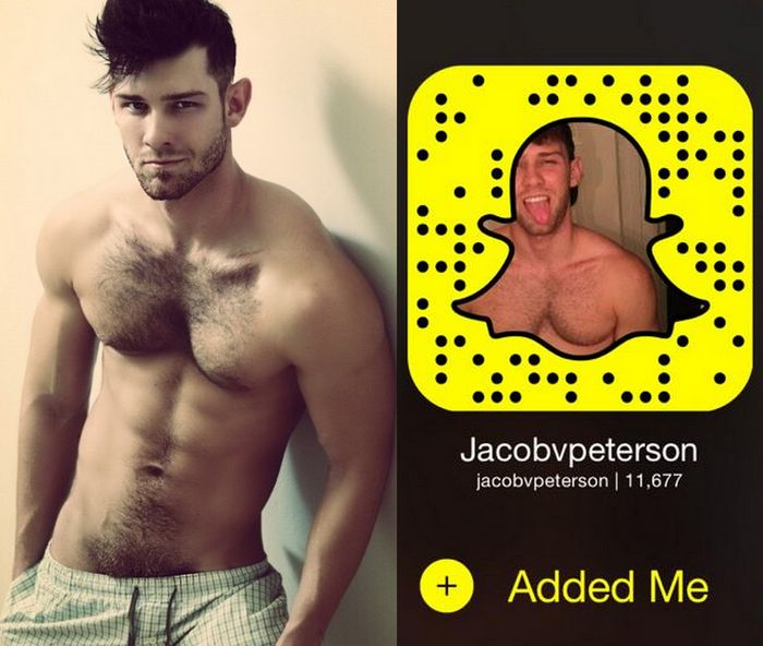 Jacob Peterson Gay Porn Star Snapchat Snap Code