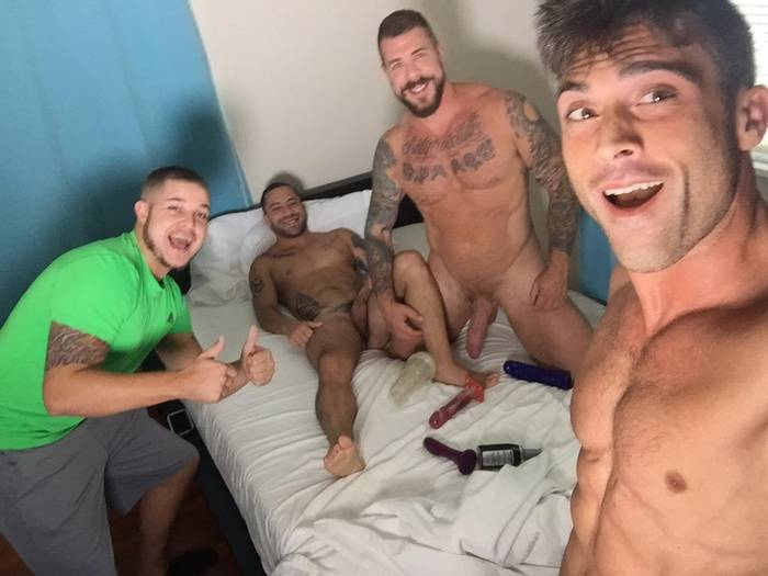 Rocco Steele Nick Cross BTS 3