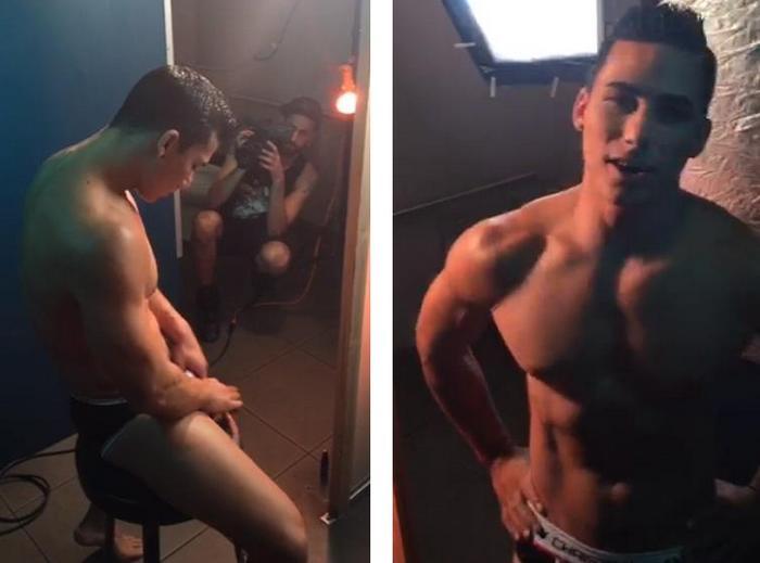 Topher DiMaggio Bray Love Nakedsword FameGame BTS 2