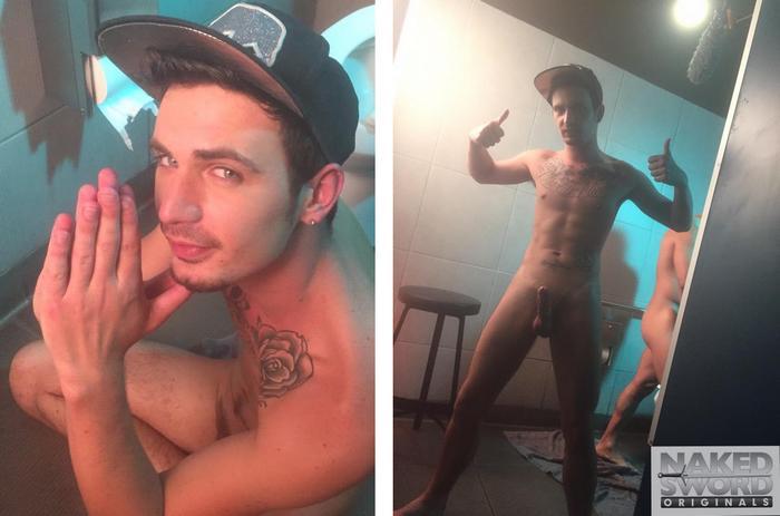 Topher DiMaggio Bray Love Nakedsword FameGame BTS 7