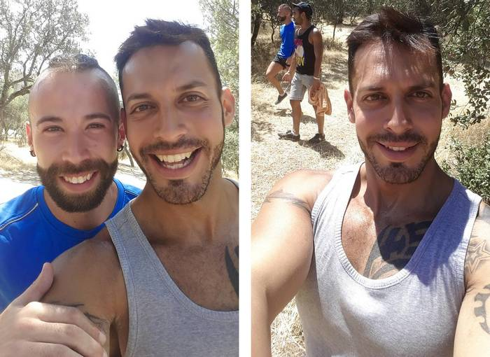 Viktor Rom Angel Garcia Lucio Saints BTS 3