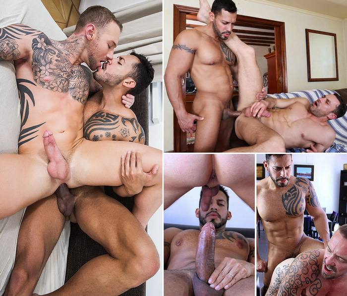 Banging the hot latin pro