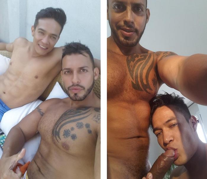 Viktor Rom with Ricky Ibanez Gay Porn 1