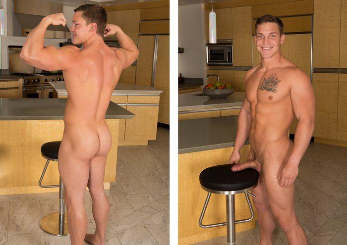 Zachary SeanCody Gay Porn Model Muscle Jock Nude 4