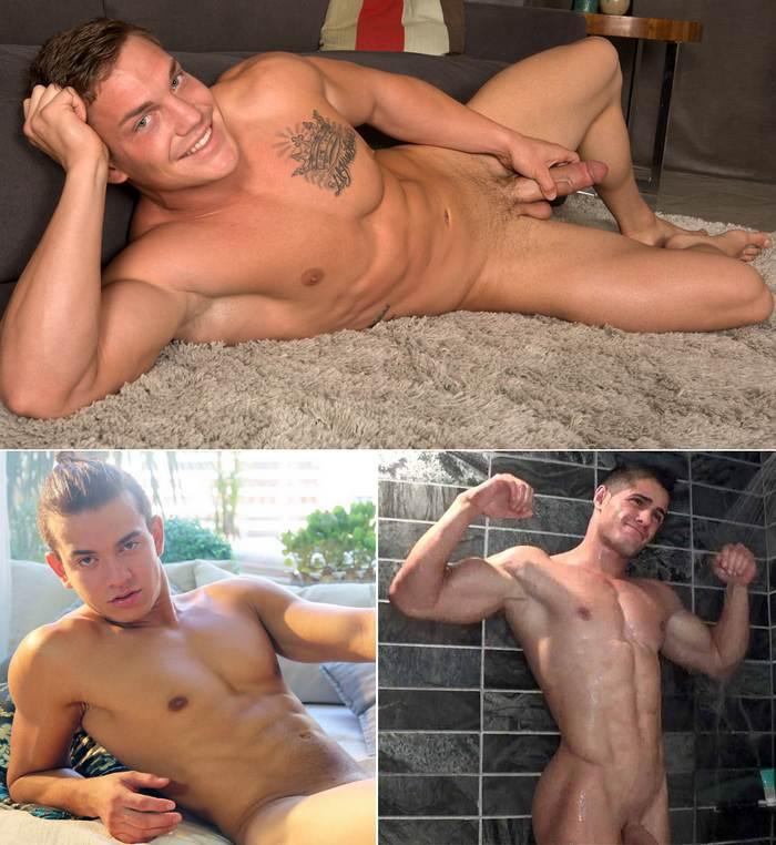 Zachary SeanCody Nico Fuentes Mateo Lucas Naked Men Gay Porn Stars