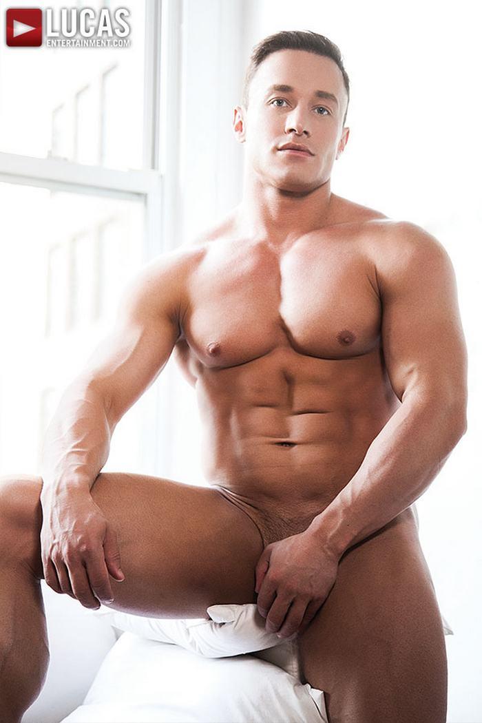 Sexy Hunky Dude Jerking Rod